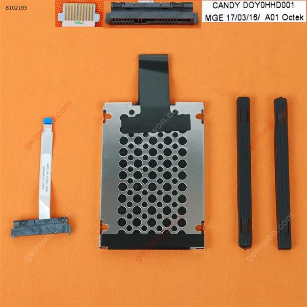 Hard Drive Disk Tray HDD Caddy & Connector Cable For  HP 15-CS 15-cs0050tx 15-cs0051tx 15-cs0037TX 15-cs0039TX 15-cs0049tx Cover DOY0HHD001  DD0G7BHD011
