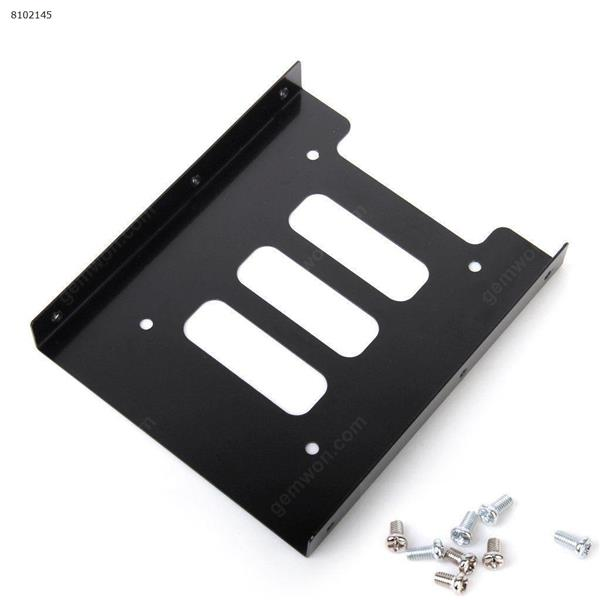 2.5 inch SSD HDD Hard Drive to 3.5 inch Solid Steel Bay/Tray Mounting Bracket Cover N/A