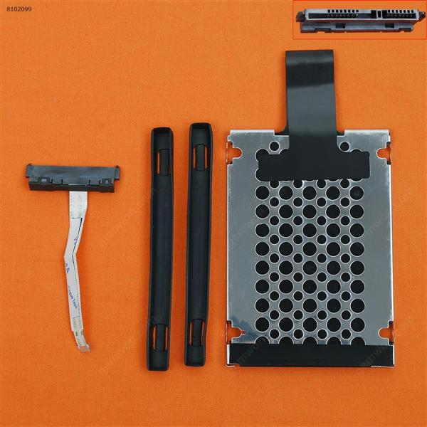 Hard Drive Disk Tray HDD Caddy & Connector Cable For HP 15-AX 15-AX016TX 15-AX217TX 15-ax018TX ax020tx 15-AX218TX  15-AX256TX 15-AX240TX 15-AX219TX 15-AX253TX 15-AX240TX Cover DDOG35HD022