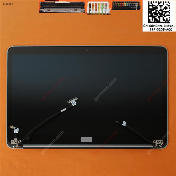 Cover A +B+LCD Complete For DELL 9530 15.6''Inch Silver 3200×1800 Cover A+B+LCD complete DELL 9530