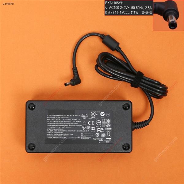 ASUS 19.5V 7.7A Φ5.5*2.5mm 150W( Quality : A+ )  Laptop Adapter 19.5V 7.7A Φ5.5*2.5MM