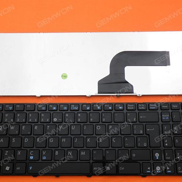 ASUS G60 GLOSSY FRAME BLACK BR N/A Laptop Keyboard (OEM-B)