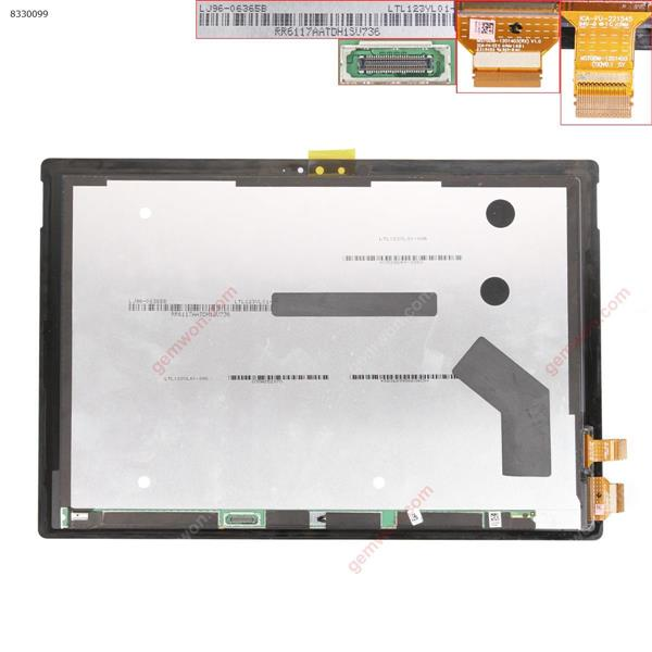 Touch Screen for Surface Pro 4 1724 Black LCD+Touch Screen LTL123YL01