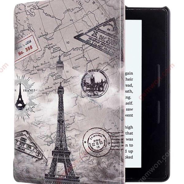 Painted Protective Case Cover For Kindle Oasis 6-Inch Grey/White Other KINDLE OASIS 6寸