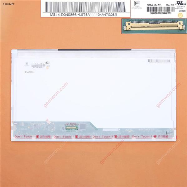 LCD+Touch screen For N184H6-L02 Rev:A1  18.4''inch ,1920 x 1080 40pin LCD+ Touch Screen N184H6-L02 REV:A1