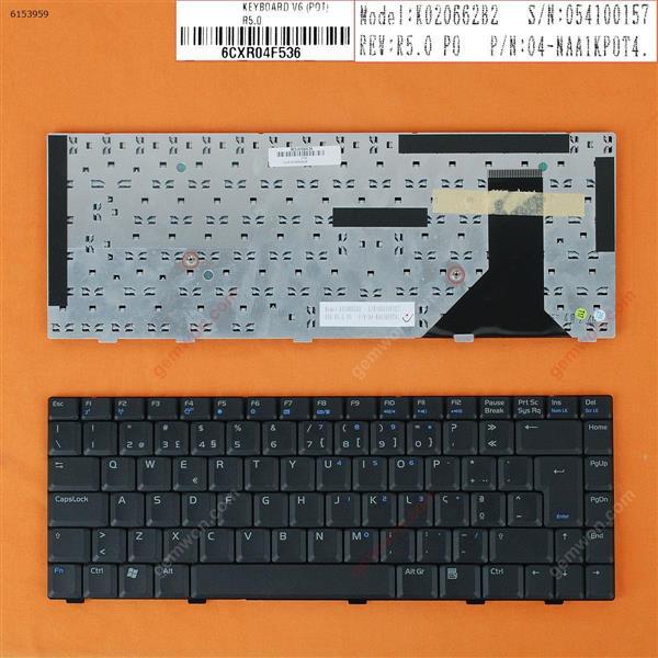 Asus V6 V6V V8 V6000 V6800 V6800V BLACK PO N/A Laptop Keyboard (OEM-B)