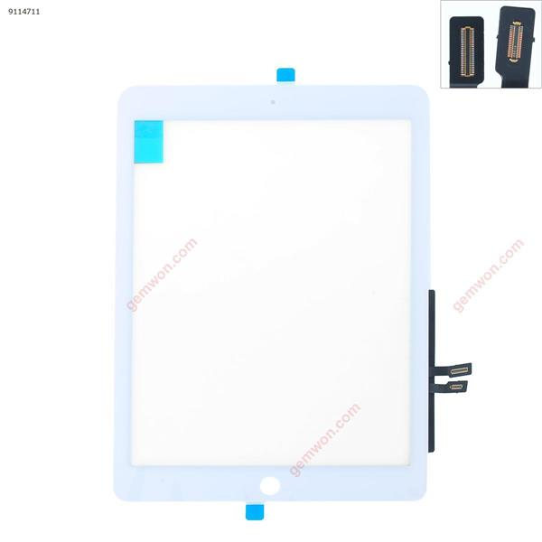 Touch Screen For IPAD 2018  A1954  A1893 WHITE Original TP with  Touch ID iPad Touch Screen IPAD 2018