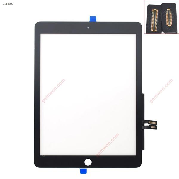 Touch Screen For IPAD 2018  A1954  A1893  Original TP black with  Touch ID iPad Touch Screen IPAD 2018