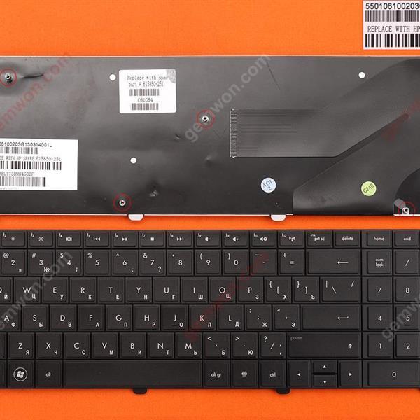 HP G72 CQ72 BLACK RU N/A Laptop Keyboard (OEM-B)
