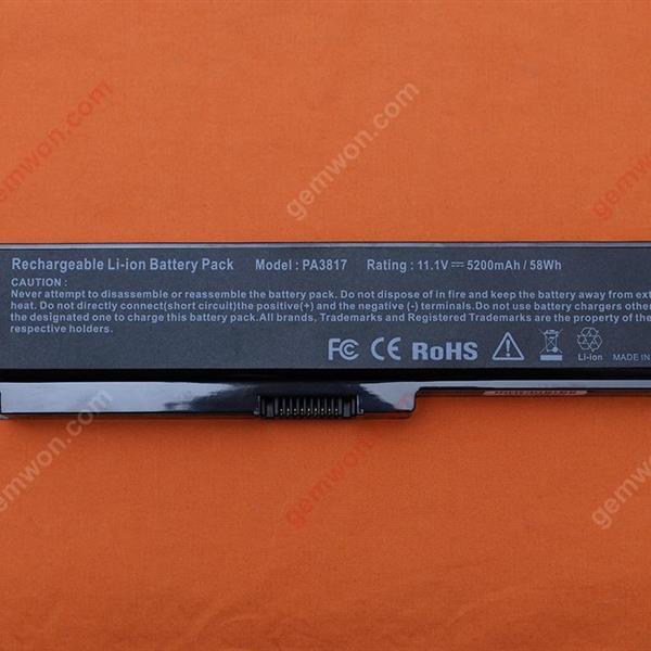 Toshiba Satelite PA3817U Battery 11.1V-5200MAH 6 CELLS