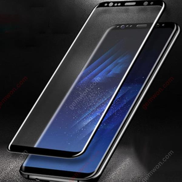 Samsung S8 screen protection film privacy anti-spy, curved touch glass screen protective film (anti-privacy) Black Screen Protector S8+