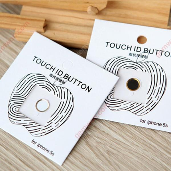 Iphone/Ipad Home button is stuck,Support the fingerprint,White Screen Protector IPHONE
