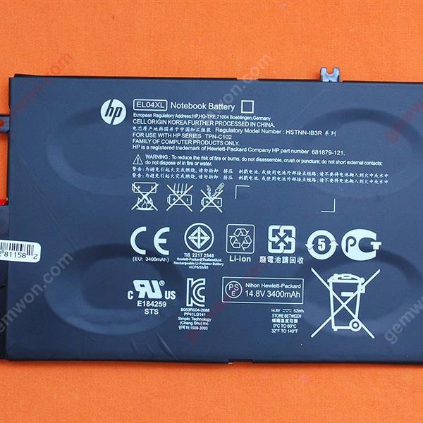 HP ENVY 4-1004TX 4-1005TX 4-1008TX 4-1100 4-1001TX 4-1009TX 4-1013TX 4-1042TX 4-1064TX(Original) Battery 14.4V 3400MAH