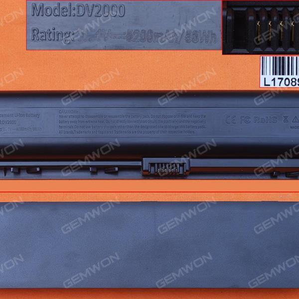 HP DV 2000 Battery 10.8V-5200MAH 6 CELLS