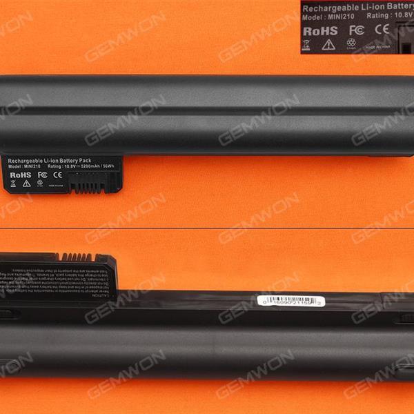 HP mini 210-1000 series Battery 11.1V-5200MAH 6 CELLS