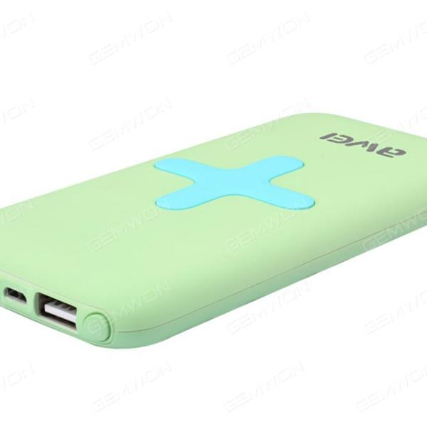 Input 5v-2A,2USB 5V-1A  5V-2A, Wireless output 5v-1A,7000MAh It also supports both wired and wireless output,Green Charger & Data Cable P98K