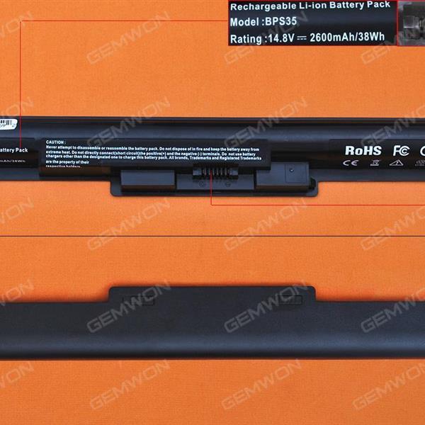 SONY VAIO VGP-Svf142 Svf152 bps35a Battery 14.8V 2600MAH  4 CELLS