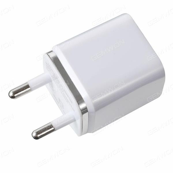 5W 3.1A 2USB Power Adapter Charger EU White Charger & Data Cable N/A