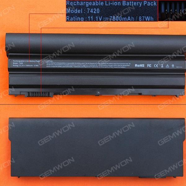 DELL Inspiron N7720 E6420 Battery 11.1V-7800MAH 9 CELLS