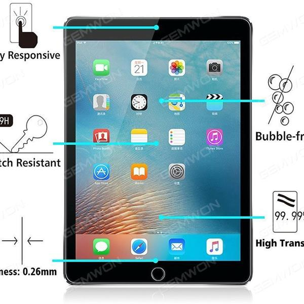 Tempered Glass Screen Protector 2.5 D Arc Edge HD For iPad pro 12.9 (Customary Screen Protector IPAD -PRO