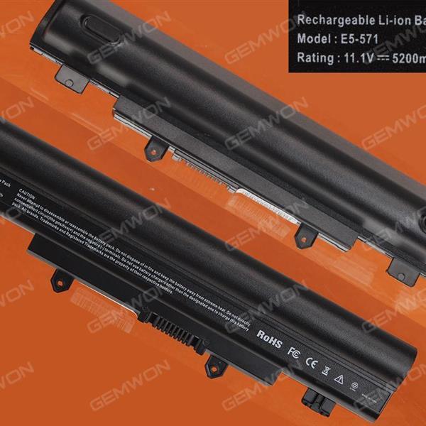 Acer E1-571 E5-411 E5-421 E5-471 E5-571 Battery 11.1V-5200MAH 6 CELLS