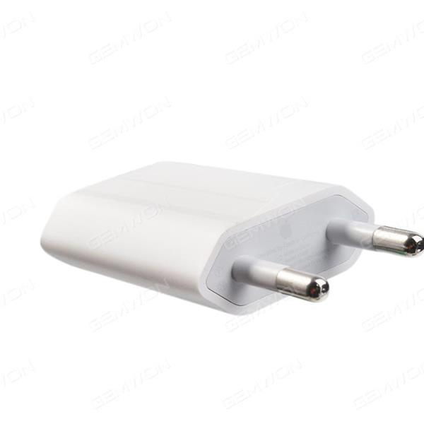The original     5W USB Power Adapter Charger for iPhone/iPod EU White Charger & Data Cable N/A