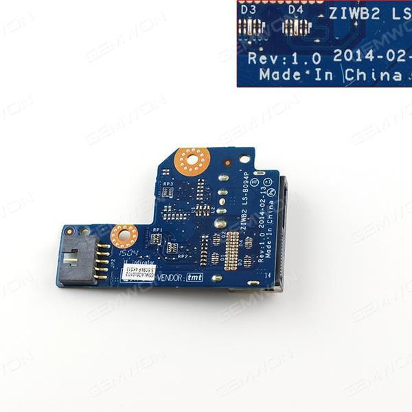 Lenovo B50-70 DC Power Input Jack Plug Port Board & Cable. Board LS-B094P