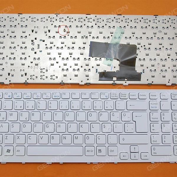 SONY VPC-EH WHITE FRAME WHITE (Without foil,OEM) TR N/A Laptop Keyboard (OEM-A)