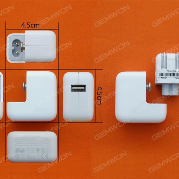 10W USB Power Adapter Charger For iPad/iPhone US Laptop Adapter N/A