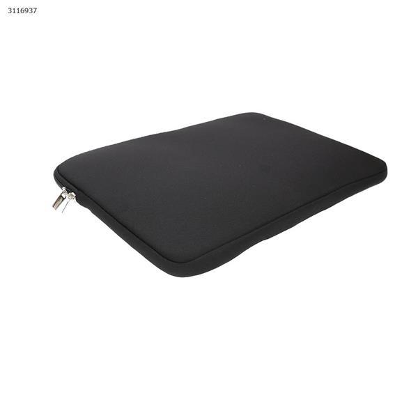 14 inch Computer handbag, MacBook DELL Lenovo computer general package, Double pocket(Black) Case 14 INCH COMPUTER HANDBAG