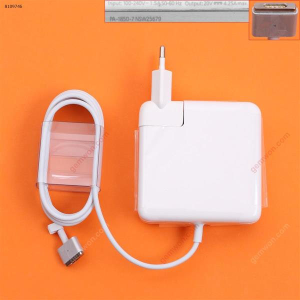 Apple Macbook 20V 4.25A 85W Connector Shape T2 For A1398 A1424 (High copy) Plug:EU Laptop Adapter APPLE MACBOOK 85W
