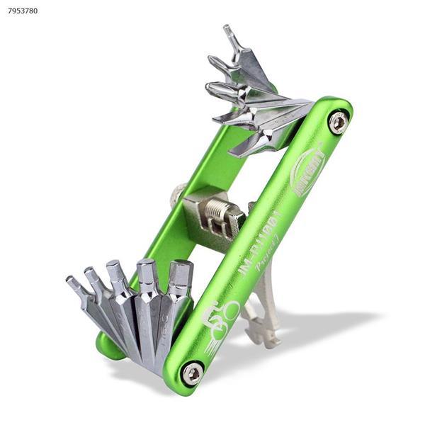 Bicycle Repair Tool Bike Pocket Multi Function Folding Tool Repair Tools T11