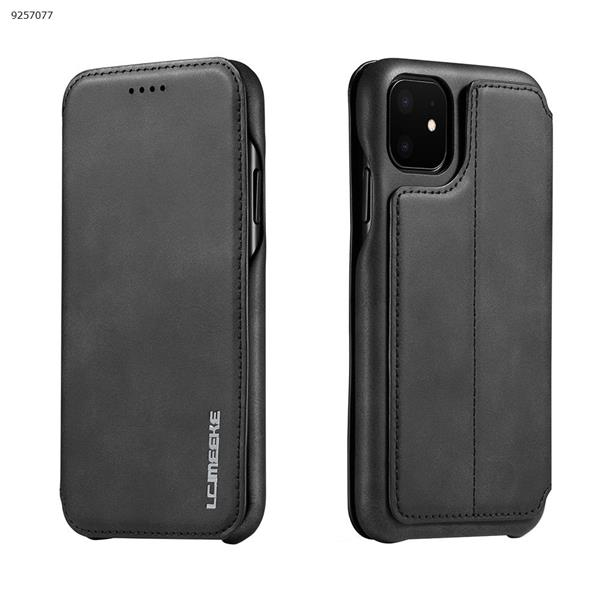 2019 New for Iphone 11 High-end leather Mobile Phone Soft Shell iphone 6.1 2019 Black Case iphone 6.1 2019 LC-001