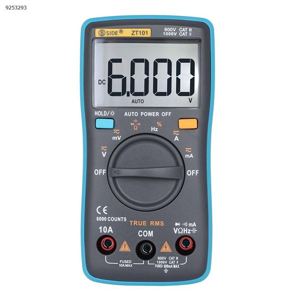 Palm-type automatic range digital multimeter ZT101 portable pocket meter energy meter Repair Tools ZT101