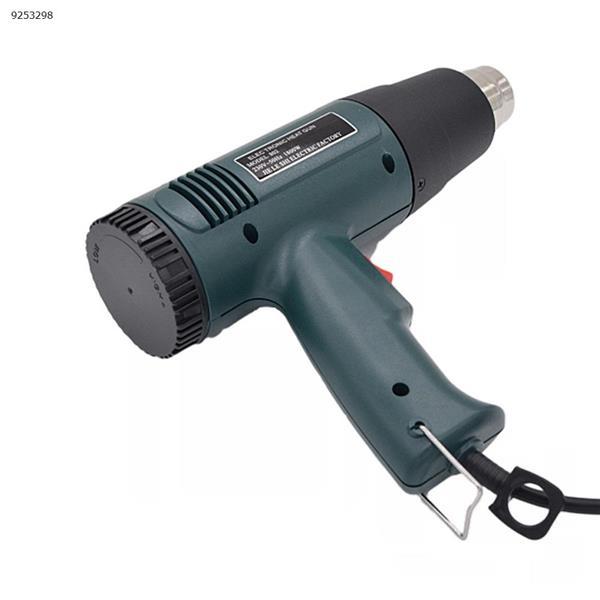 1800W electric hot air temperature hot air gun adjustable fan shrink packaging paint stripping welding tool + nozzle Repair Tools JLS-801