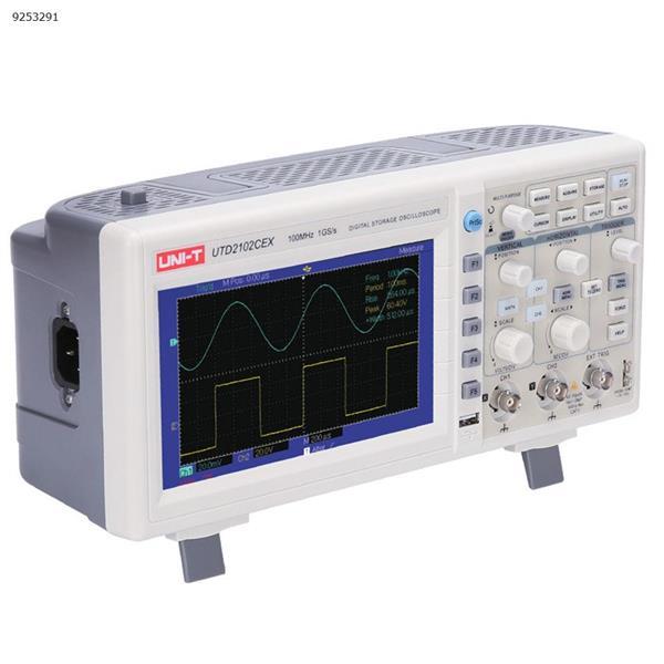 Digital Storage Oscilloscope 100MHz Dual Channel 1GS/s Sampling 25M50 Bandwidth Repair Tools UTD2102CEX