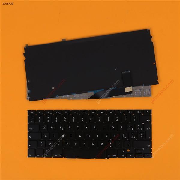 Apple Macbook Pro A1398 BLACK(With Backlit Board) IT N/A Laptop Keyboard