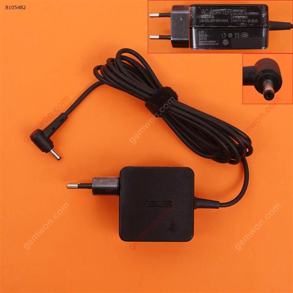 Asus 19V 1.75A Φ4.0x1.35mm ( Quality : A+ )  Plug:EU Laptop Adapter 19V 1.75A Φ4.0X1.35MM