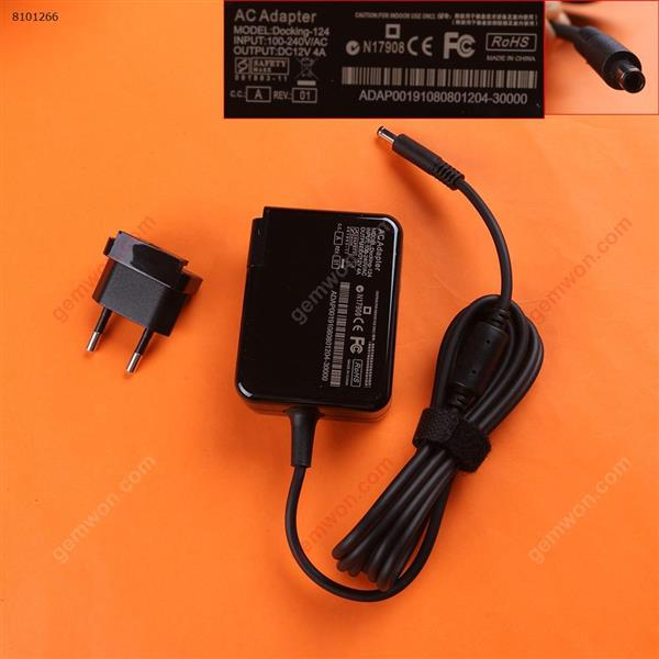 Microsoft 12V4A 48W surface PRO 3(Wall Charger Portable Power Adapter)Plug:EU Laptop Adapter 12V 4A 48W