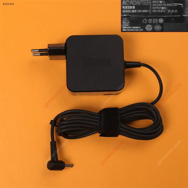 Asus 19V 2.37A Φ4.0*1.35mm 45W( Quality : A+ )  Plug:EU Laptop Adapter 19V 2.37A Φ4.0*1.35MM