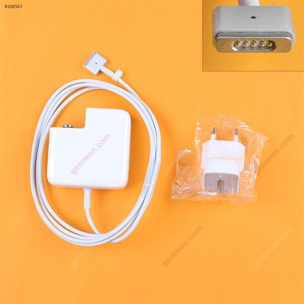 Apple Macbook 14.85V 3.05A 45W Connector Shape T2 For Magsafe 2 (High copy) Plug:EU Laptop Adapter APPLE MACBOOK 45W