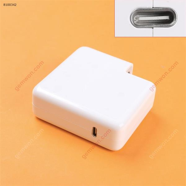 APPLE MACBOOK Type C USB-C 87W Power Adapter Charger (High copy)Plug:EU Laptop Adapter MACBOOK