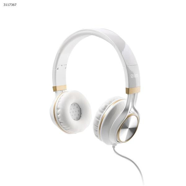 SF-SH013IP Wired headset,Music call sports running head-mounted earphone,white Headset SF-SH013IP WIRED HEADSET