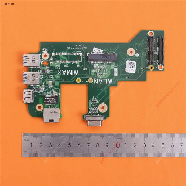 USB VGA Board And NIC Connector For DELL Inspiron 17R N7110 V3750(Pulled) Board CY4GM