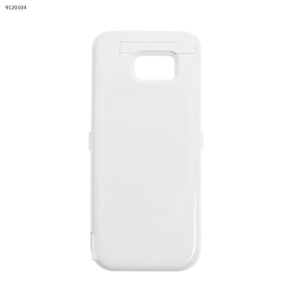 5000mAh Battery case for Samsung Galaxy s7 Egde White Charger & Data Cable HUAYU 126