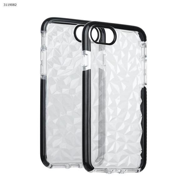iphone6/6s/7/8 Drop-resistant transparent soft shell,All-inclusive mobile phone shell,black Case IPHONE6/6S/7 DROP-RESISTANT TRANSPARENT SOFT SHELL