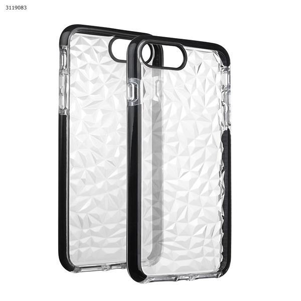 iphone6plus/7plus Drop-resistant transparent soft shell,black Case IPHONE6PLUS/7PLUS DROP-RESISTANT TRANSPARENT SOFT SHELL