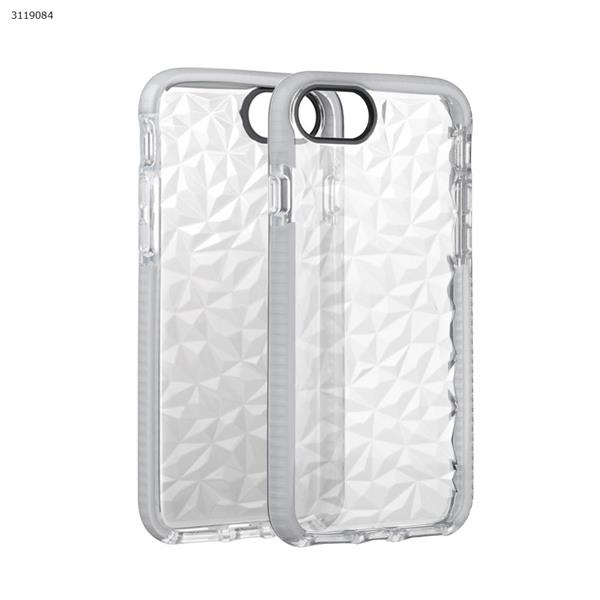 iphone6/6s/7/8 Drop-resistant transparent soft shell,All-inclusive mobile phone shell,white Case IPHONE6/6S/7 DROP-RESISTANT TRANSPARENT SOFT SHELL