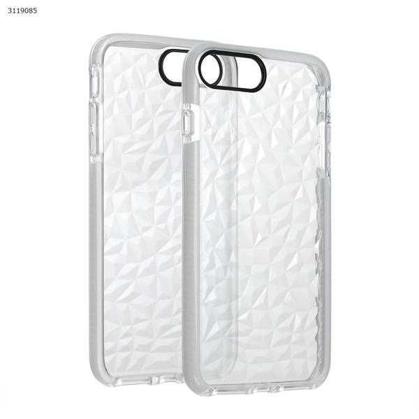 iphone6plus/7plus Drop-resistant transparent soft shell,white Case IPHONE6PLUS/7PLUS DROP-RESISTANT TRANSPARENT SOFT SHELL