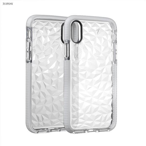 iphoneX Drop-resistant transparent soft shell,white Case IPHONEX DROP-RESISTANT TRANSPARENT SOFT SHELL